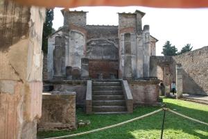 The main shrine of the Temple of Isis in Pompeii. Photo copyright Forrest 2009.