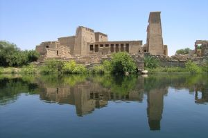 The Temple of Philae; photo by Ivan Marcialis from Quartucciu, Italy and used under Wiki Creative Commons usage guidelines
