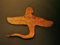 A Uraeus Serpent, one of the Divine forms in which Isis is sometimes depicted