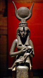 Isis the Mother and Her Holy Child Horus