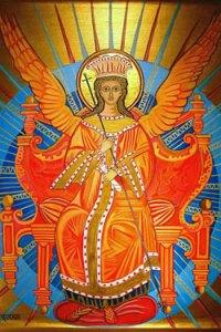A Sophia icon