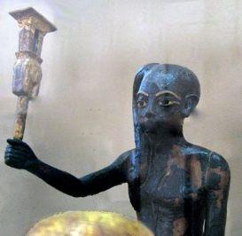 Ihy, the Sistrum Player, son of Hathor