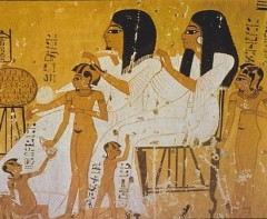 An Egyptian noble family