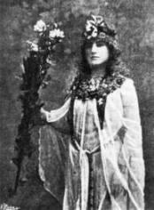 Moina as Isis Priestess