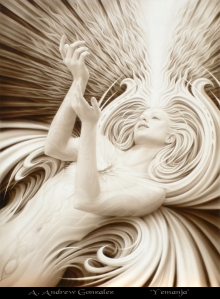 God-blasted; beautiful art by Andrew Gonzales; you can buy prints, yay!