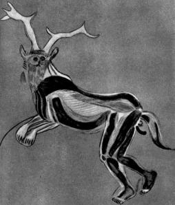 Kheperu has been around for a VERY long time; this is the famous cave painting believed to be a shaman in the Kheper of a stag