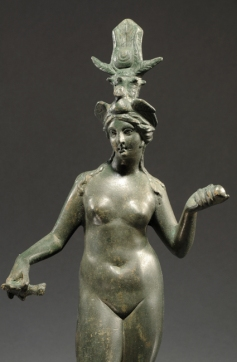 Isis-Aphrodite, a Roman bronze from the 1st or 2nd century CE
