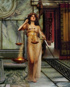 Justitia, by Howard David Johnson