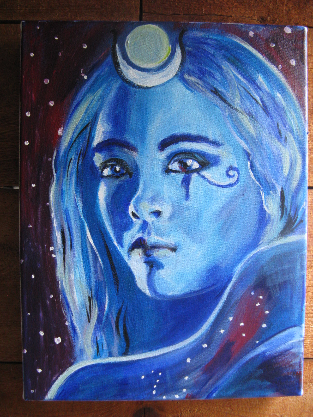 Is isis a moon goddess or a sun goddess isiopolis a lovely painting of a lunar isis by artist katana leigh visit her site here buycottarizona Image collections