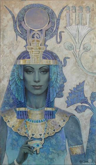 A beautiful Isis by Russian artist Nicholas Burdykin