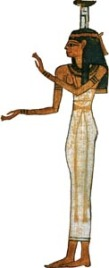 Nephthys, the Lady of the Temple
