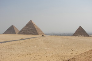 The Giza big three