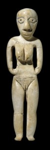 A female image in ivory from the early predynastic period in Badari