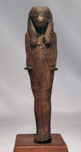 A Ptolemaic beeswax image of one of the sons or Horus