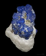 Lapis from Afghanistan in its natural state