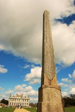 The Philae Obelisk in its current home in England