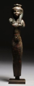 An elegant Isis from the 25th dynasty