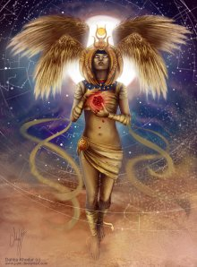 I very much like this Cosmic Isis by artist Dahlia Khodur. Here's a link to her FB page.