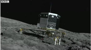 The Philae lander; they should have put a tiny statue of Isis in Her temple, don't you think?