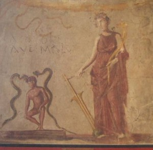 Isis Fortuna from the Temple of Isis, Pompeii