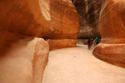 "The ""Siq"" is the passageway by which modern visitors usually enter the ruins of Petra"
