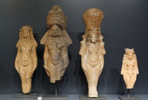 Terracotta figurines of Isis-Aphrodite, now in the Louvre