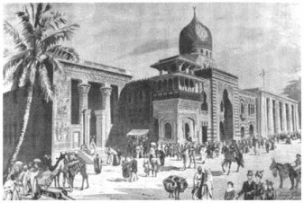 The Egyptian Palace, 1900