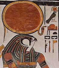 Horus in His solar aspect