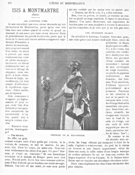 MacGregor as the Hierophant Ramses in the L'Echo article; click to enlarge