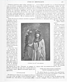 Moina as Anari in L'Echo article