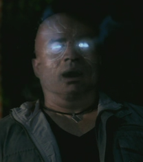 Scary Osiris from the TV show, Supernatural; maybe this is what Gaucher saw?