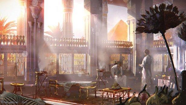 Concept art from Exodus; my Egyptian dream...