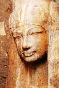 A new image of queen Tjye recently found at Luxor; pretty sure this woman could Do Things
