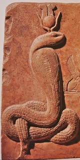 Isis as a Uraeus Serpent