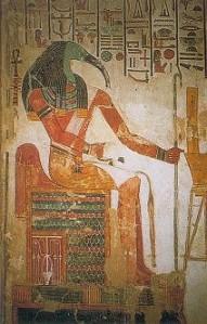 Thoth; Trismegistos' Egyptian original